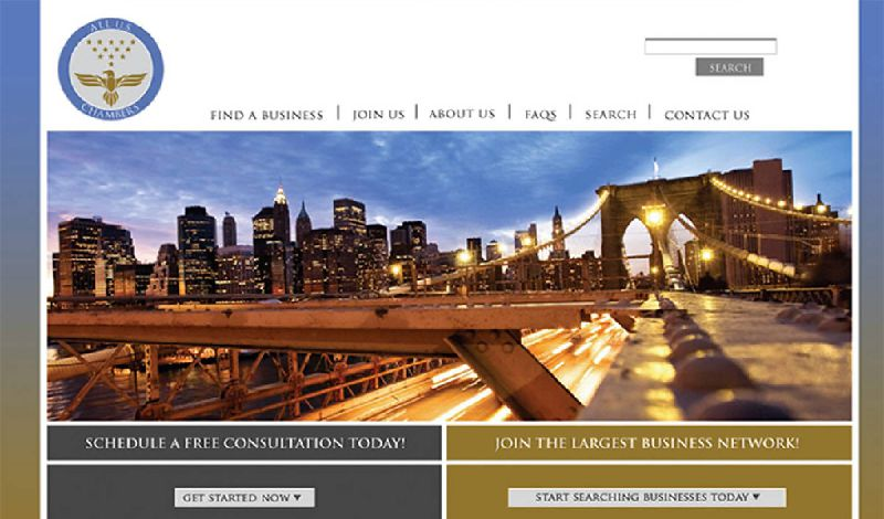 Yates Web Consulting web design using HTML technology and iframes to embed the corporate database
